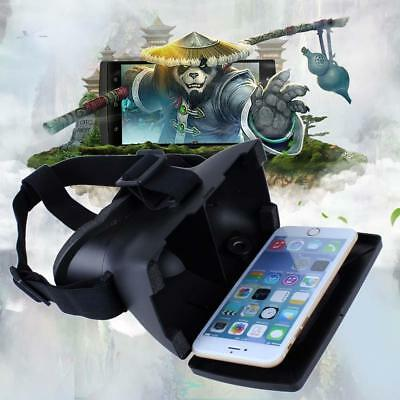 Hot Virtual Reality VR Headset 3D Plastic Video Glasses For iPhone 5s 6 Plus AC