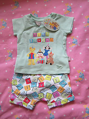Peter Alexander Play School Pyjamas Size 3-6 Months Brand New With Tags