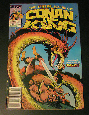 Conan the King #55 The Final Issue 1989 Marvel Comics NM