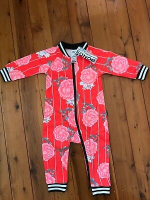 Bonds Retro Wondersuit Zippy Size 0 BNWT RRP 39.95