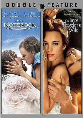 Notebook / Time Traveler's Wife - Double Feature DVD- NEW- FREE SHIPPING