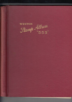 "KGVI OMNIBUS 1937 CORONATION- Mounted mint & used in Red ""555"" Weston Album"