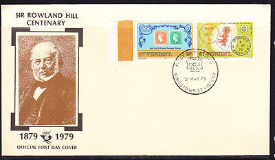 St Vincent 1979 Rowland Hill First Day Cover  Unaddressed
