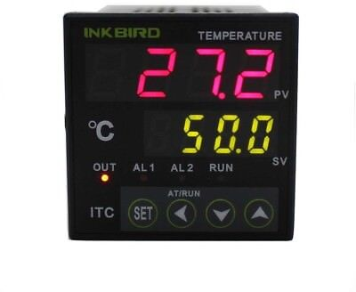 Inkbird Dual Digital PID Temperature Controller Thermostat Temp Calibration 2 Om