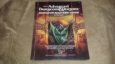 Dungeons & Dragons Dungeon Masters Guide - Hard Cover - (TSR 2011) 1979