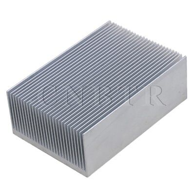 Cooling Fin Aluminium Heatsink Heat Diffuse Silver Color 100x69x36mm