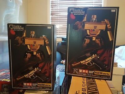 transformers masterpiece megatron gold