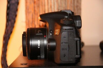 MINT Canon EOS 60D Digital camera 18.0 MP SLR With 50mm IS II Lens (2 Lenses)