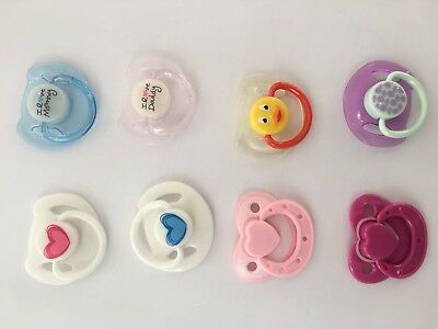 Pacifier Dolls Accessories Magnetic Dummy Fit for Reborn Baby Doll Only