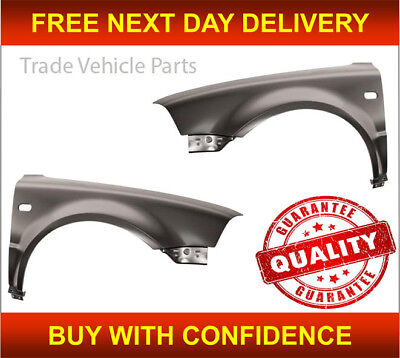 Vw Passat B5.5 2000-2005 Front Wing Pair Left /& Right With Indicator Hole New