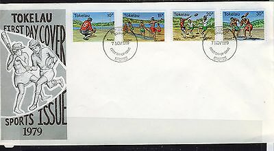 Tokelau Islands 1979 Sport First Day  Cover - Unaddressed