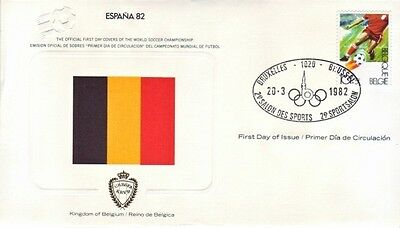 Belgium - Special Events, People & Anniversaries (2no. PO/Other  FDC's) 1982-87