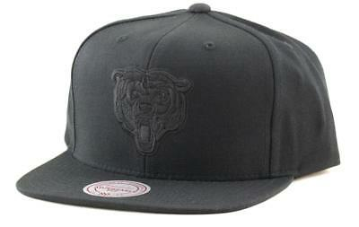Chicago Bears NFL Hat Mitchell & Ness Baseball Cap In Black Mitchell And Ness