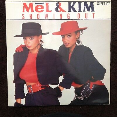 """12""""  Mel & Kim Showing Out 1986"""