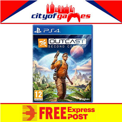 Outcast Second Contact PS4 Game New & Sealed Free Express Post In Stock