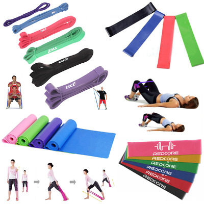 Workout Exercise Fitness Training Yoga Equipment Loop Elastic Resistance Band