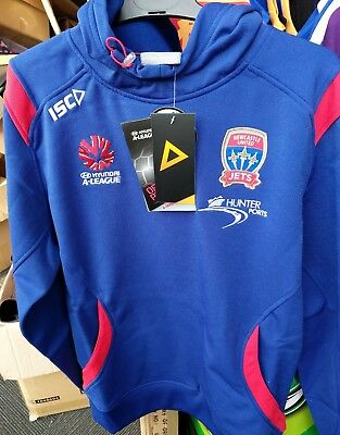 Newcastle Jets GameDay Hoodie Size Medium A League Football Soccer Jersey
