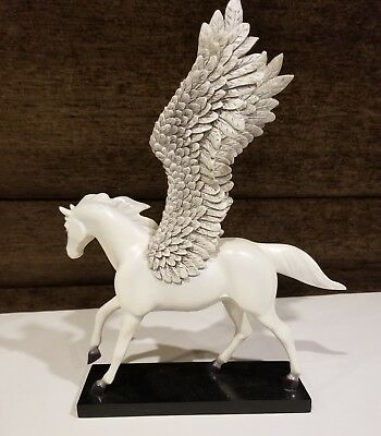 "Retired Trail of Painted Ponies ""Silver Lining"" Pegasus Horse 2E/7825"