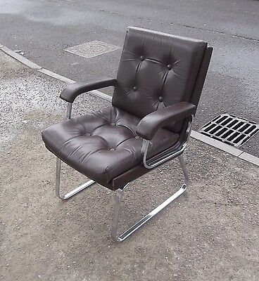 Stylish Vintage Verco Armchair  Desk Chair   Delivery Available