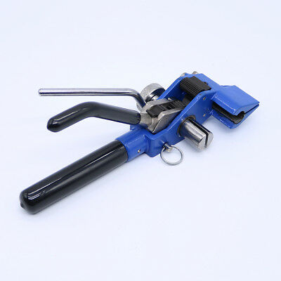 Stainless Steel Cable Tie Baler Fasten Tool Pliers Crimper Tensioner Cutter Tool