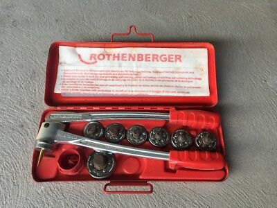 Rothenberger expander set - 7 heads