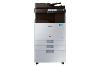 Samsung Multifonction A3 Couleur 28 Ppm + Meuble Support Sl-X3280Nr/see Neuf