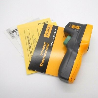 Fluke MT4 MAX IR Thermometer, Non Contact, -22 to +662 Degree F Range 2 orders
