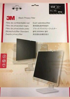3M Black Privacy Security Filter Lcd Monitor Pc At Reduced Sale Price Rrp £40 Uk