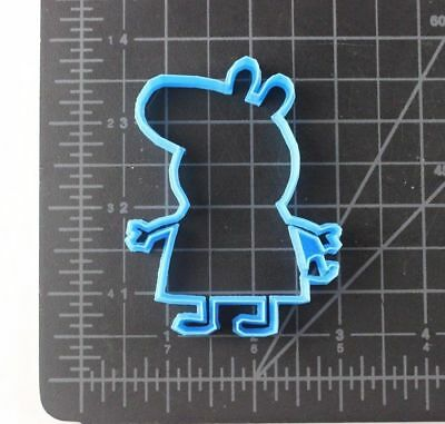 Peppa Pig Cookie Cutter Cake Biscuit Pastry Fondant Play Doh Cake Decor