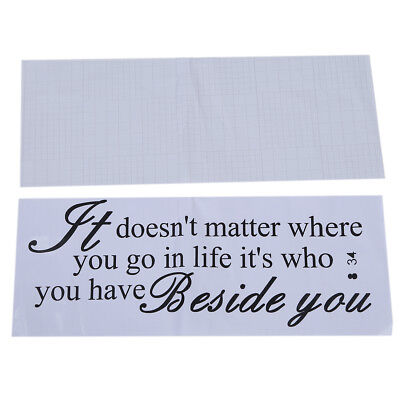 PF Wall Quote Removable Sticker Decal Mural It Doesn't Matter Where You Go
