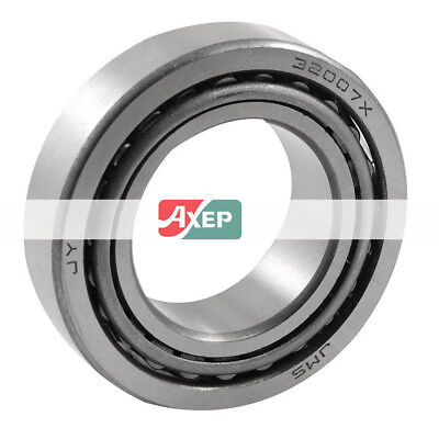 1 Pieces 32007 35 x 62 x 18mm Single Row Cone Tapered Roller Bearing Silver Tone