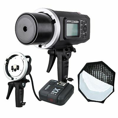 Godox AD600BM HSS 2.4G Outdoor Flash Light +Trigger+ Hand-Held Extension Head