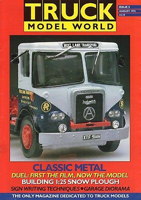 Truck Model World Magazine Issue 5 from August 1992