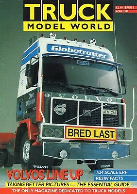 Truck Model World Magazine Issue 3 from April 1992