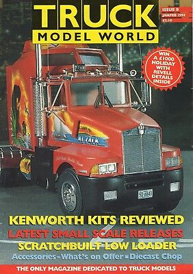Truck Model World Magazine Issue 8 from January to Feb 1993