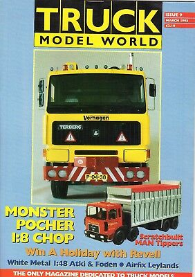 Truck Model World Magazine Issue 9 from March 1993