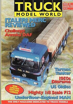 Truck Model World Magazine Issue 16 from January to Feb 1994