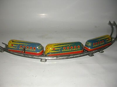 Atomic Train from the 50's probably made in Germany