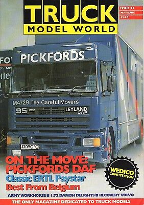 Truck Model World Magazine Issue 11 from May to June 1993