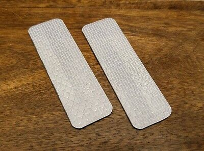 3M Diamond Grade reflective patch for tactical gear. 1 * 3 inches. 2 pcs.