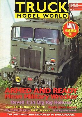 Truck Model World Magazine Issue 20 from July 1994