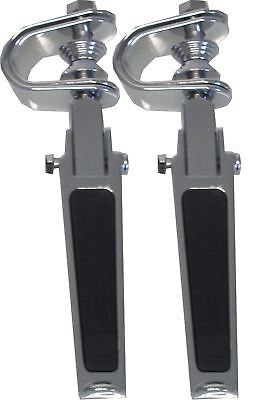 Footrests Clamp-On Rubber Inlay Style for Highway bars