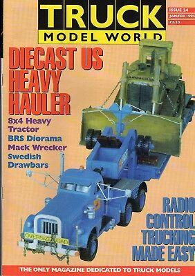 Truck Model World Magazine Issue 24 from January to Feb 1995