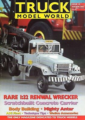 Truck Model World Magazine Issue 19 from May to June 1994