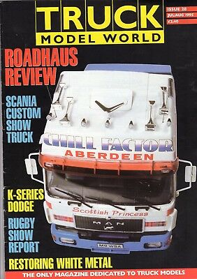 Truck Model World Magazine Issue 28 from July to August 1995