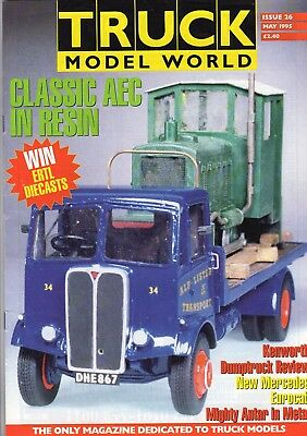 Truck Model World Magazine Issue 26 from May 1995