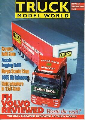 Truck Model World Magazine Issue 25 from March to April 1995