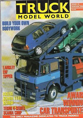 Truck Model World Magazine Issue 33 from March to April 1996