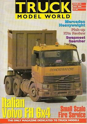 Truck Model World Magazine Issue 34 from May 1996