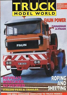 Truck Model World Magazine Issue 41 from March to April 1997